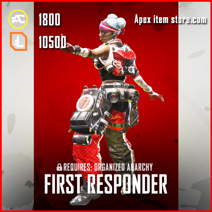 first responder legendary lifeline skin apex legends