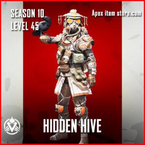 hidden hive rare bloodhound skin Battle Pass Season 10 Skin Apex Legends