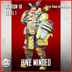 hive minded rare gibraltar skin skin Battle Pass Season 10 Skin Apex Legends