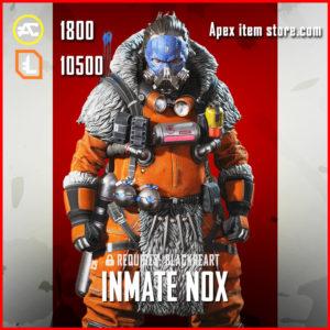Inmate Nox Exclusive legendary Caustic apex legends skin