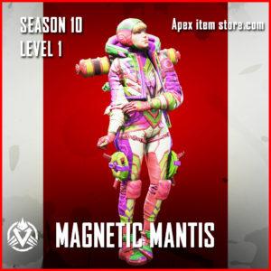 magnetic mantis rare wattson skin Battle Pass Season 10 Skin Apex Legends