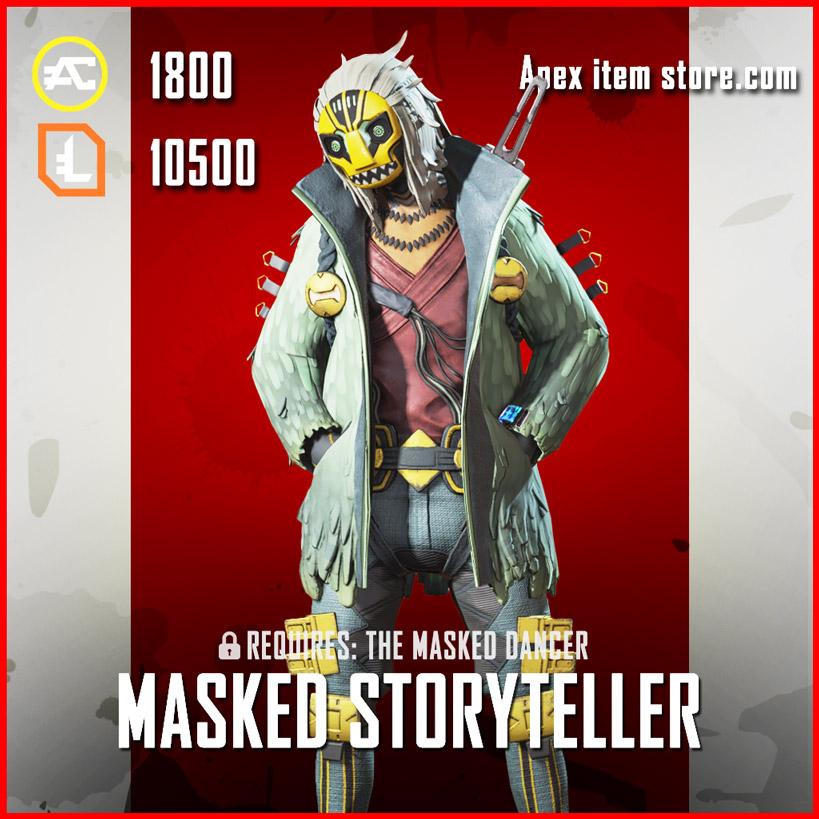 Masked Storyteller Crypto Legendary Apex legends skin