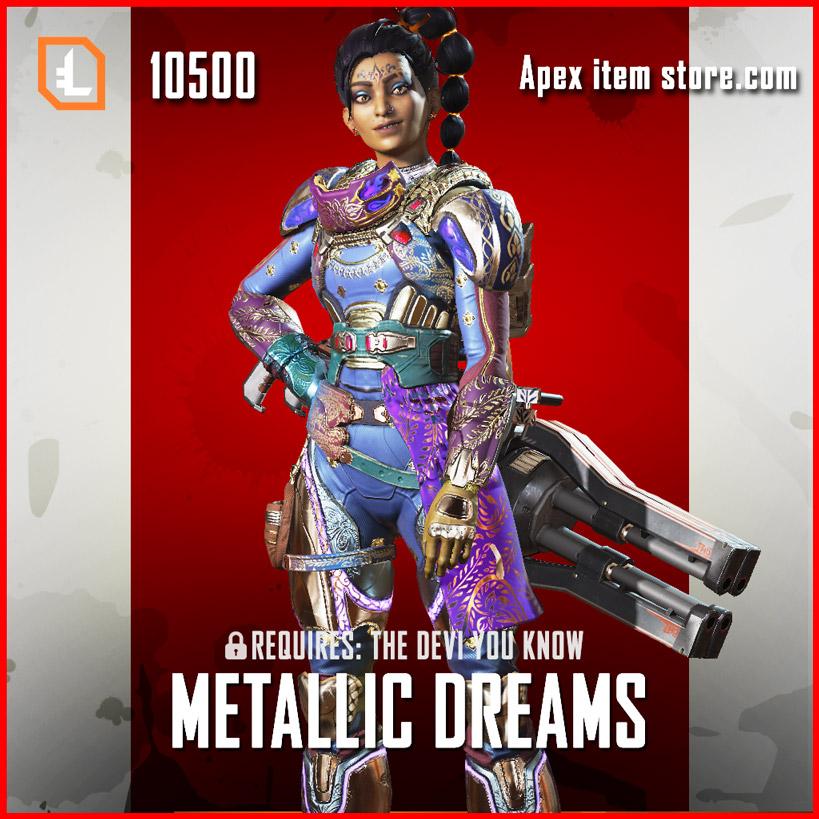 Metallic Dreams Exclusive Rampart Skin Apex Legends