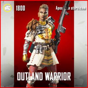 Outland Warrior Legendary bangalore skin apex legends