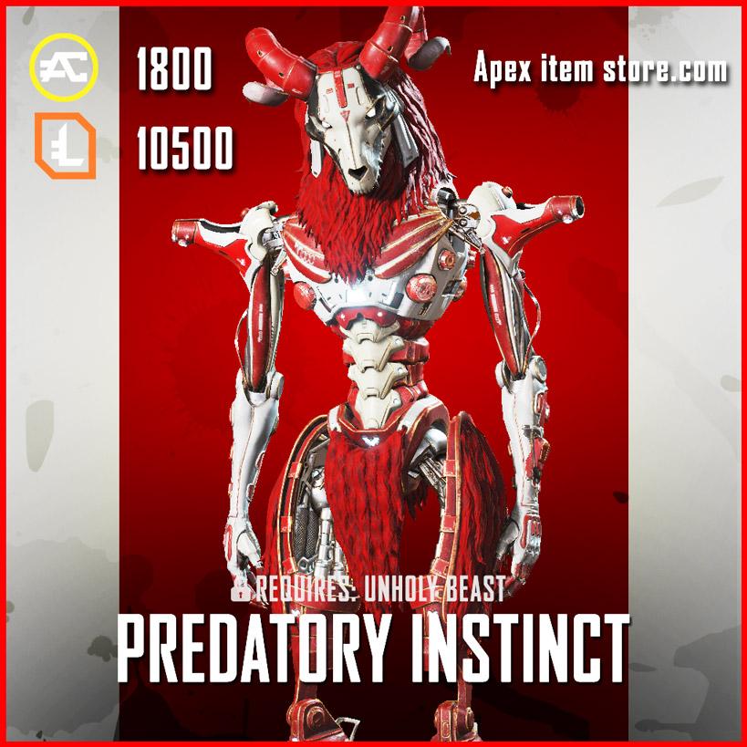 Predatory Instinct Revenant Apex Legends Skin