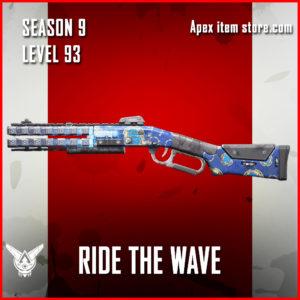 ride the wave rare peacekeeper skin Apex Legends Season 9 Battle Pass Level 93