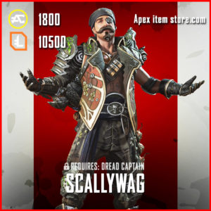 Scallywag Fuse Legendary Apex Legends Skin Exclusive