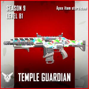 temple guardian rare hemlok skin Apex Legends Battle Pass Season 9 Legacy Level 81