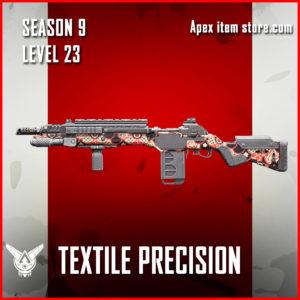 textiel precision rare g7 scout skin Apex Legends Battle Pass Season 9 Legacy Level 23