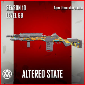altered state rare g7 scout Battle Pass Season 10 Skin Apex Legends