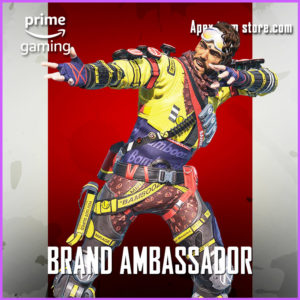 Brand Ambassador Mirage rare skin prime gaming apex legends