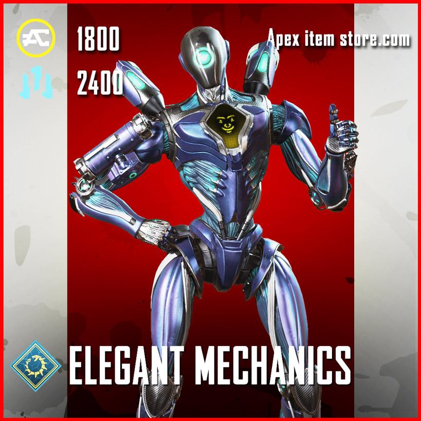 elegant mechanics legendary pathfinder skin apex legends