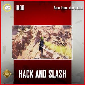 Hack and Slash crypto skydive emote epic apex legends