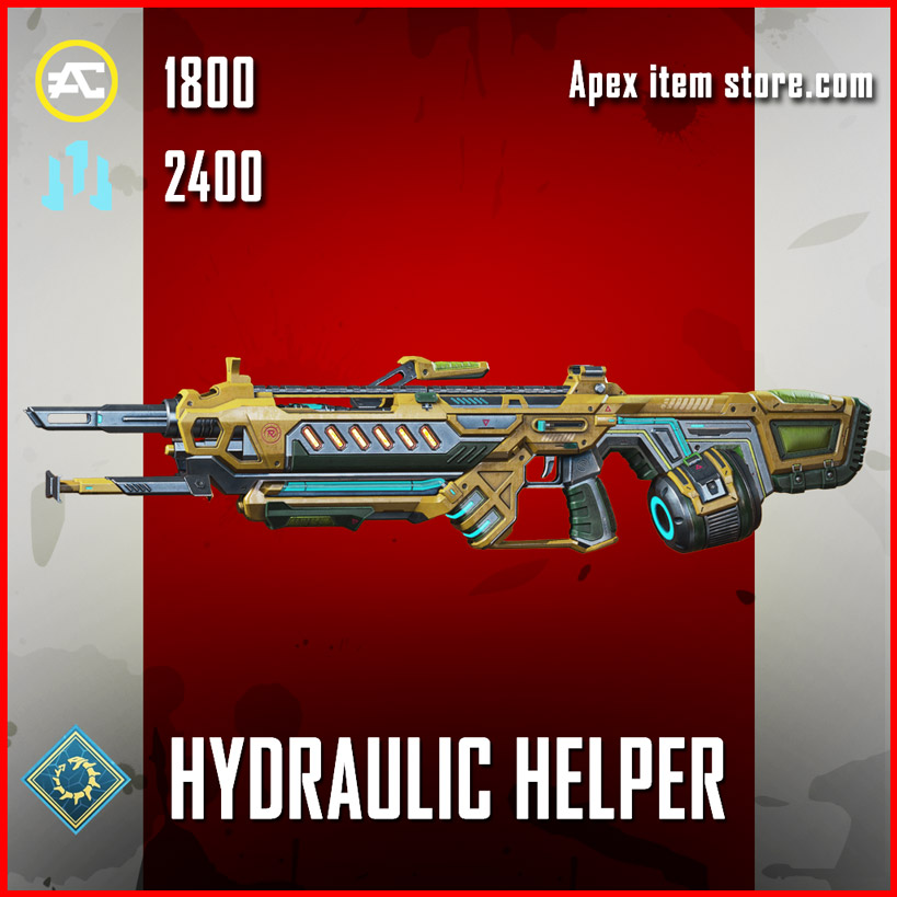 hydraulic helper legendary rampage skin apex legends