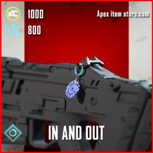 in and out epic charm apex legends