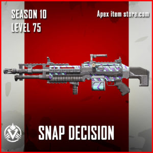 snap decision rare spitfire Battle Pass Season 10 Skin Apex Legends