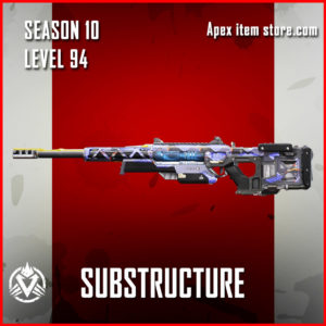 Substructure rare sentinel Battle Pass Season 10 Skin Apex Legends