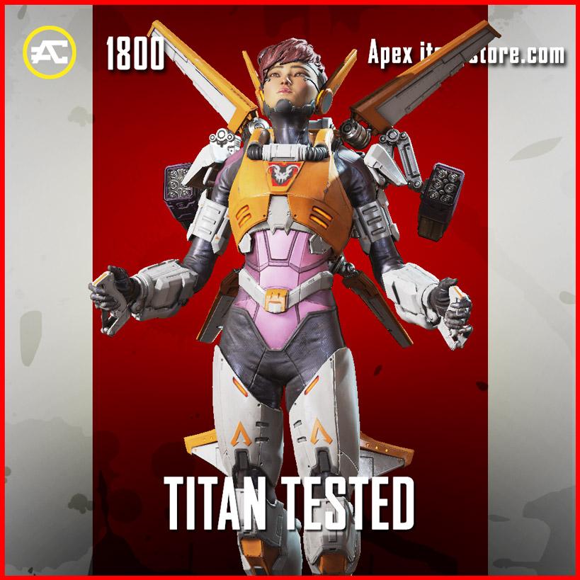 Titan Tested Valkyrie Apex Legends Skin