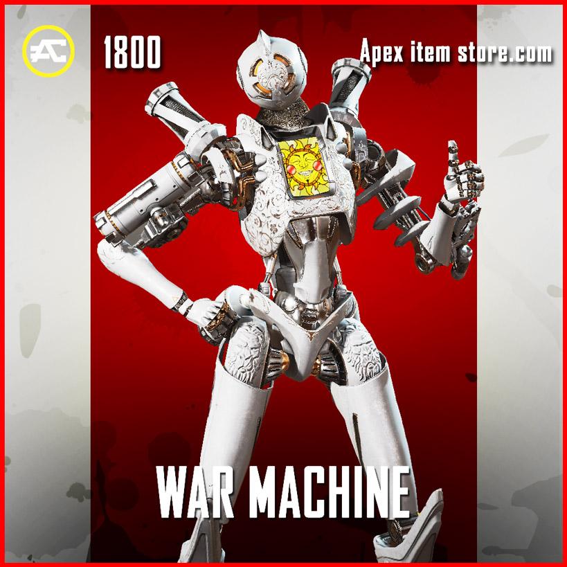 War Machine Pathfinder Apex Legends skin