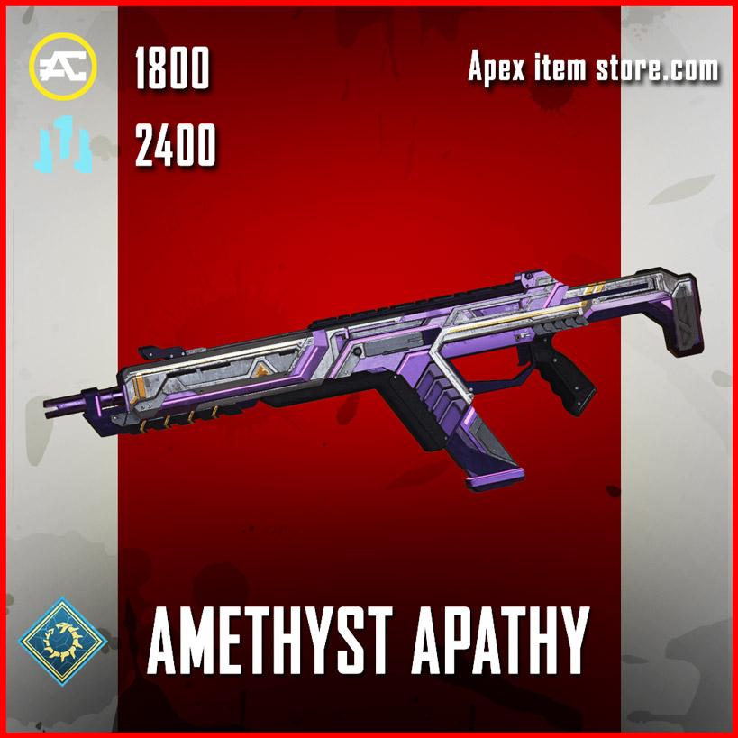 amethyst apathy legendary r-301 skin apex legends