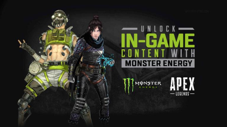 Apex Legends: Monster Energy Collab Features Battle Pass Unlocks, Skins & More