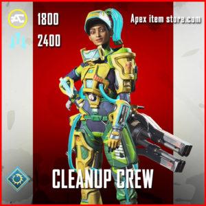 cleanup crew legendary rampart skin apex legends
