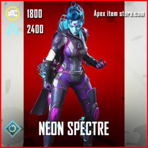 neon spectre legendary wraith skin apex legends