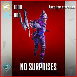 no surprises epic wraith stance apex legends