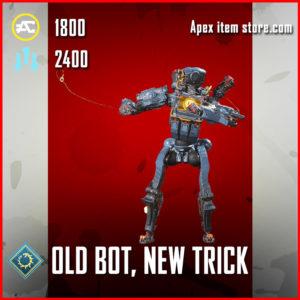 old bot, new trick legendary pathfinder emote apex legends