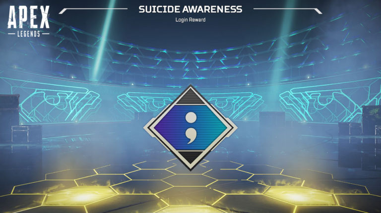 Apex Legends: New Suicide Awareness Badge Available for Suicide Awareness Month