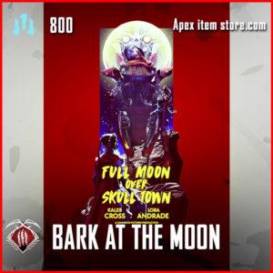 bark at the moon revenant epic banner frame apex legends