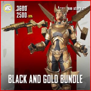 Black And Gold Apex Legends Bundle