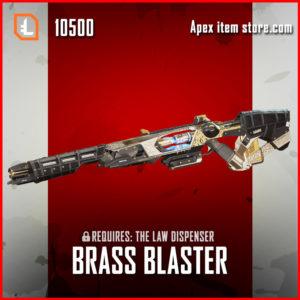 Brass Blaster Sentinel Apex Legends Skin Exclusive