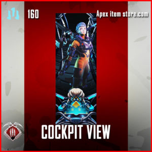 cockpit view valkyrie Rare banner frame apex legends