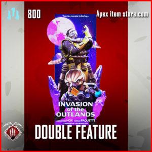 double feature caustic epic banner frame apex legends