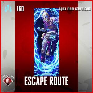 escape route wraith Rare banner frame apex legends
