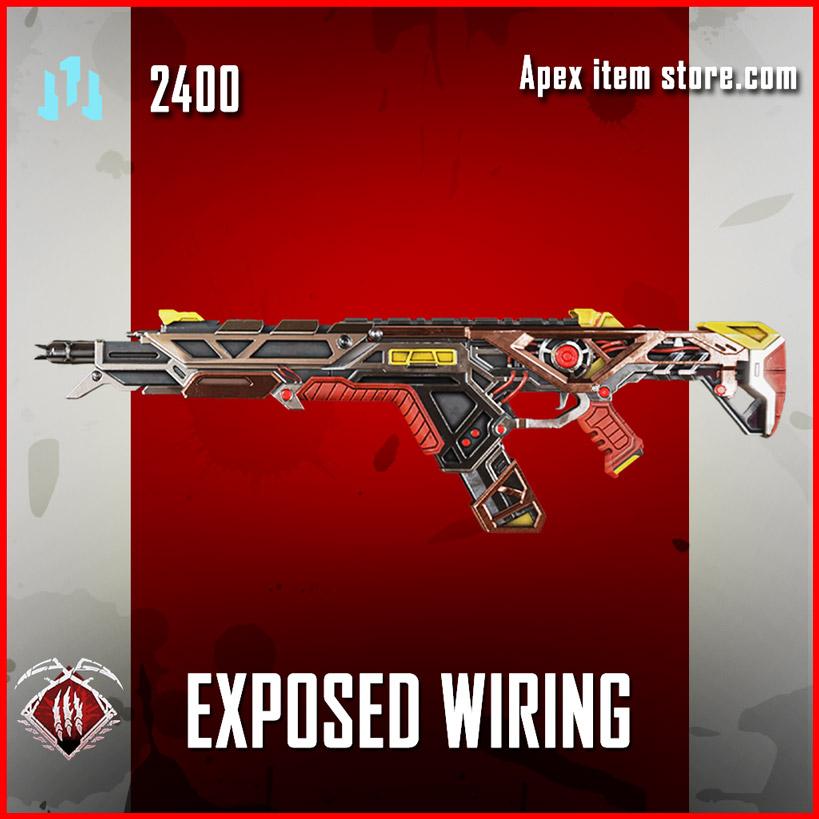 exposed wiring legendary r-301 skin apex legends