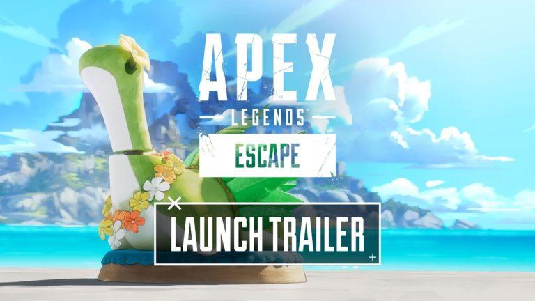 Apex Legends: Escape Launch Trailer Premiers October 21 at 8AM PT