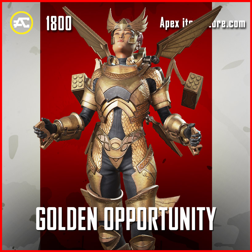 Golden Opportunity Valkyrie Apex Legends Skin