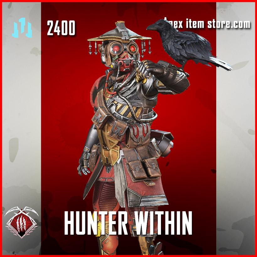 Hunter Within legendary bloodhound skin apex legends