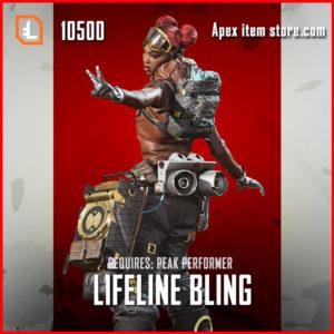 Lifeline Bling Legendary apex legends lifeline skin