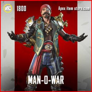 Man-O-War Fuse Skin Bundle Apex Legends