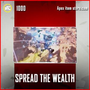 Spread the Wealth Wattson skydive emote epic apex legends item