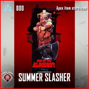 summer slasher bloodhound epic banner frame apex legends