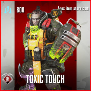 toxic touch epic gibraltar skin apex legends