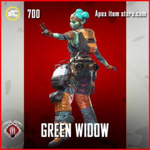 green widow lifeline