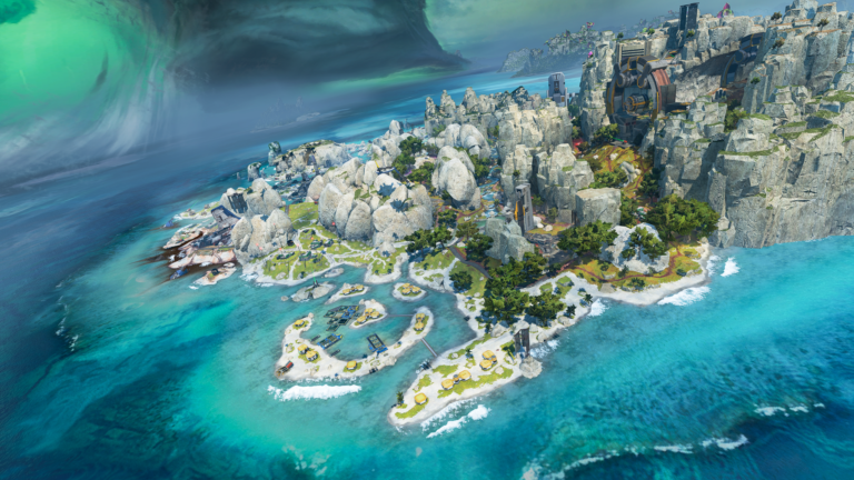 Apex Legends: Storm Point Map Details